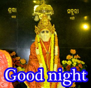 Sai Baba Good Night Wallpaper Pictures Images Download