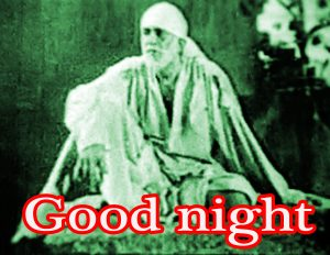 Sai Baba Good Night Pictures Images Photo Free HD