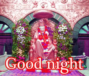 Sai Baba Good Night Wallpaper Pictures Images Free Download