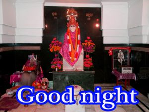 Sai Baba Good Night Photo Images Pictures Free HD Download