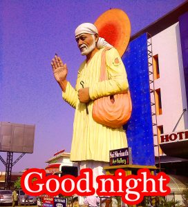 Sai Baba Good Night Pictures Images Photo HD Download