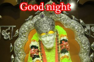 Sai Baba Good Night Wallpaper Pictures Free HD Download