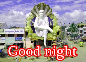 Sai Baba Good Night Images For Whatsapp