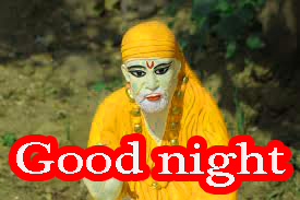Sai Baba Good Night Wallpaper Pics Pictures Images Download