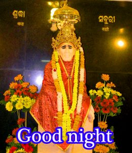 Sai Baba Good Night Wallpaper Pics Pictures Images Free Download