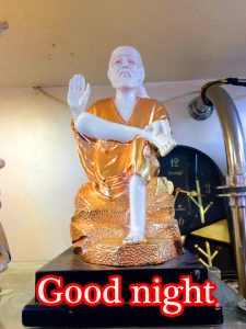 Sai Baba Good Night Wallpaper Pics Pictures Photo HD Download