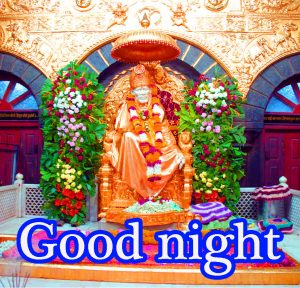 Sai Baba Good Night Wallpaper Pics Pictures HD