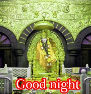 Sai Baba Good Night Images Pictures Photo HD Download