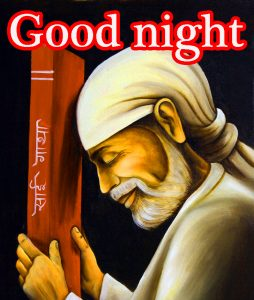 Sai Baba Good Night Wallpaper Pics Pictures Free Download