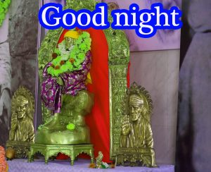 Sai Baba Good Night Wallpaper Pics Pictures Photo Free Download