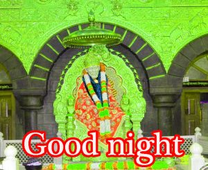 Sai Baba Good Night Wallpaper Pics Pictures HD Download
